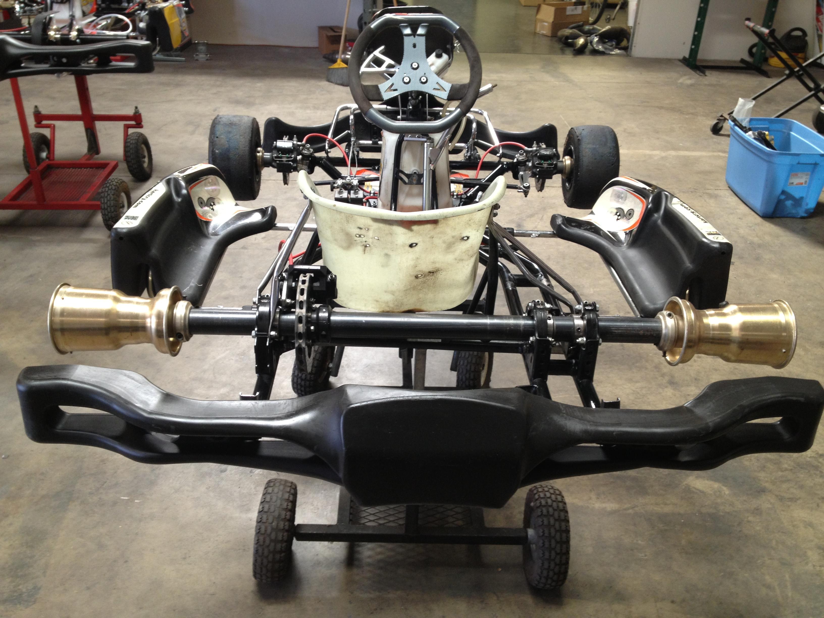 Go Kart Crg Zuera Shifter Chassis 2015