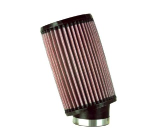 "K&N UNIV.AIR FILTER, OVAL, 2 7/16"" x 7"" H"