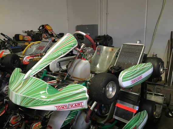2014 TONY KART 'RACER' EVK ROLLING CHASSIS