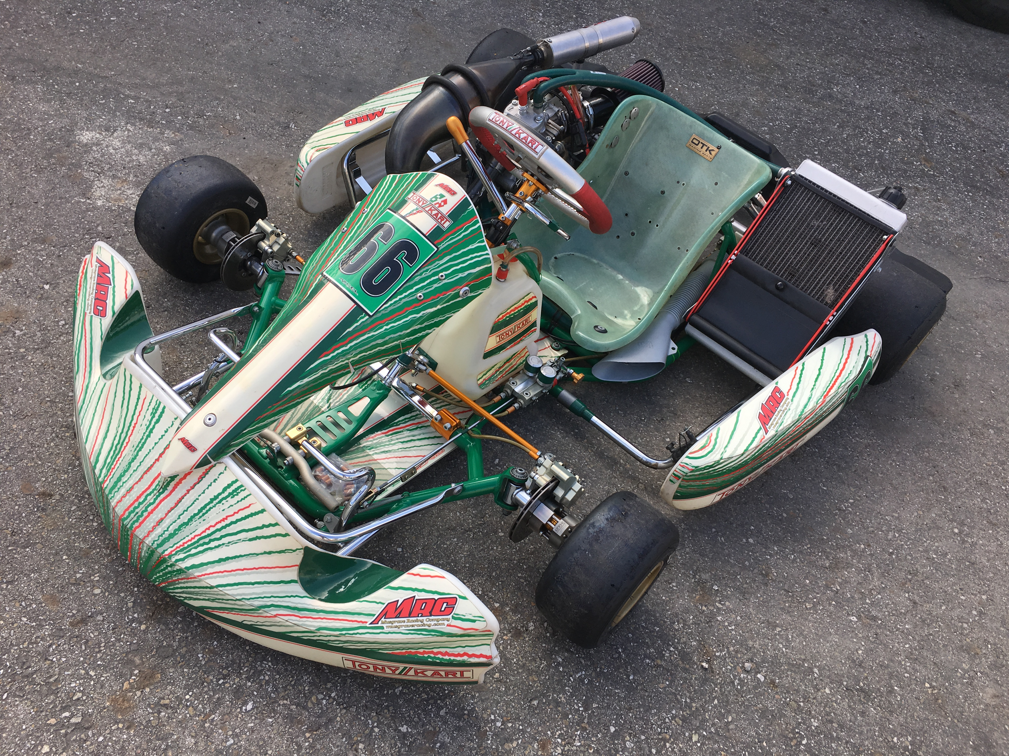 TONY KART 2012 w/ COMPLETE MRC CR125 ENGINE PACKAGE & EXTRA\'S ...