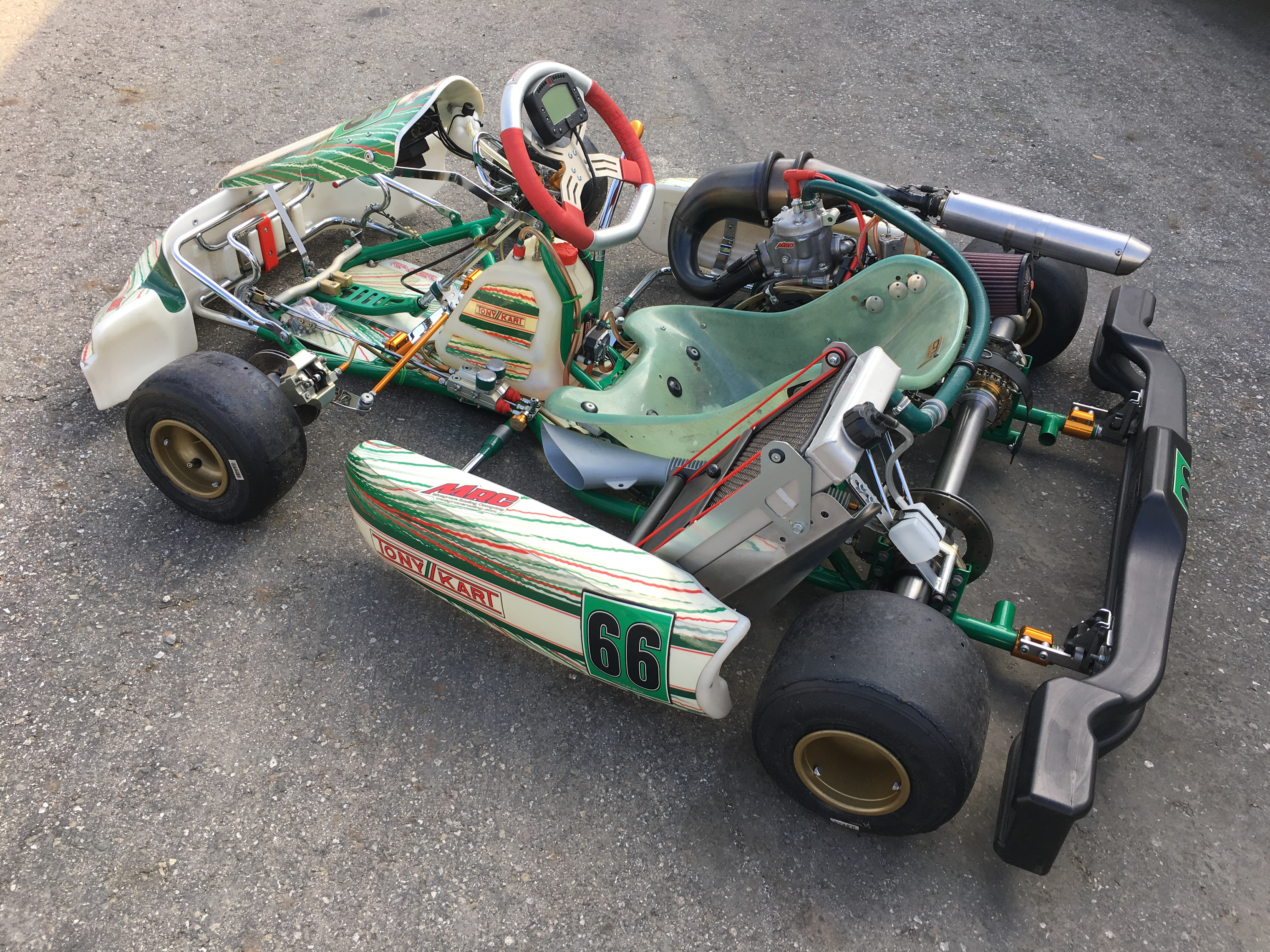 TONY KART 2012 w/ COMPLETE MRC CR125 ENGINE PACKAGE & EXTRA'S | Musgrave Racing