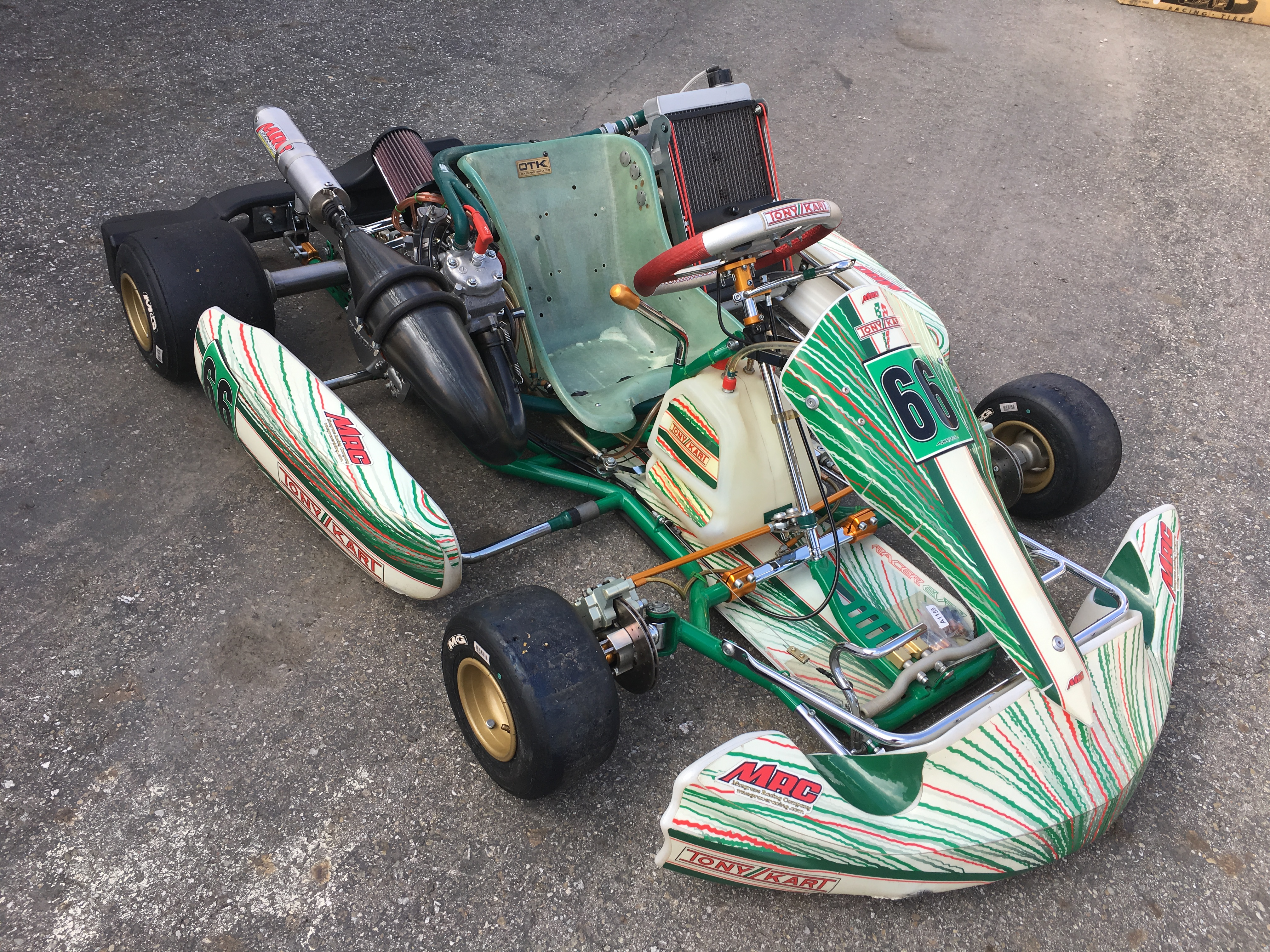 TONY KART 2012 w/ COMPLETE MRC CR125 ENGINE PACKAGE & EXTRA'S   Musgrave Racing