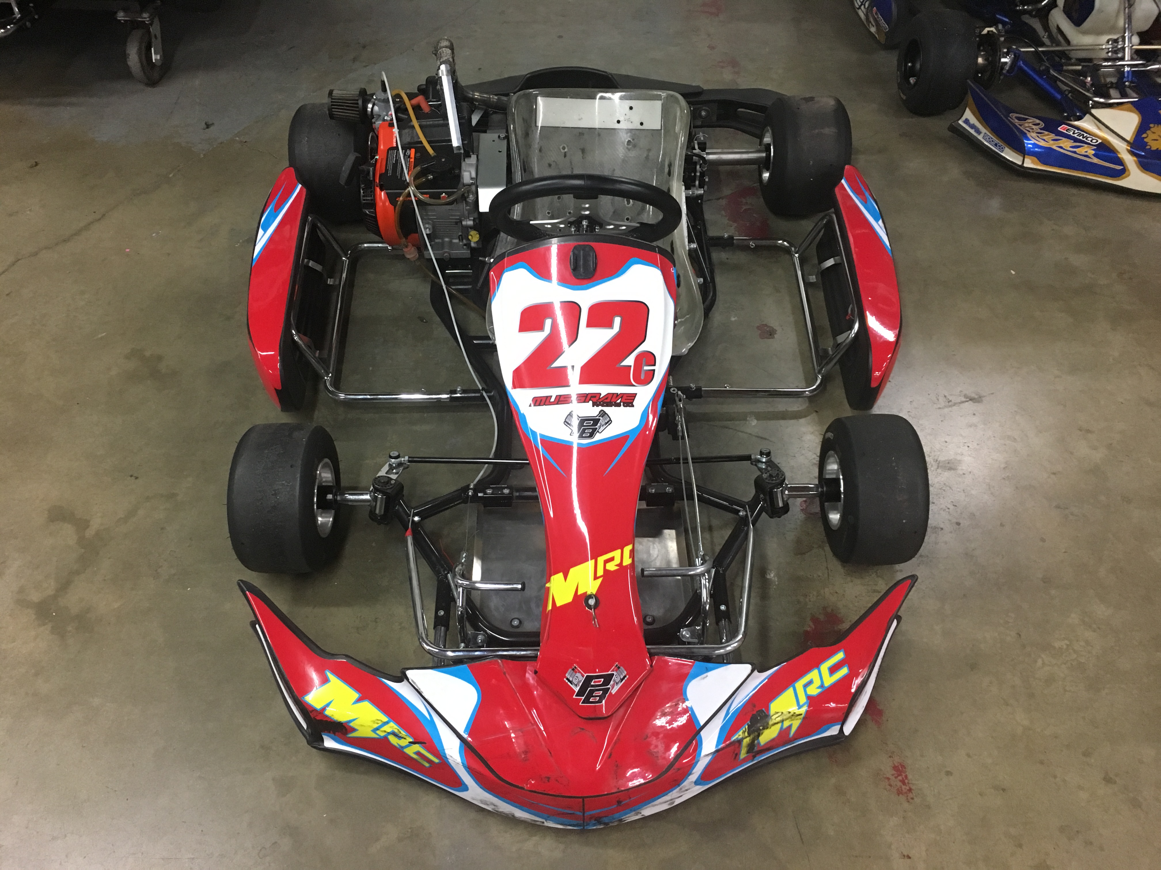 206 COMPLETE KART, RACE READY