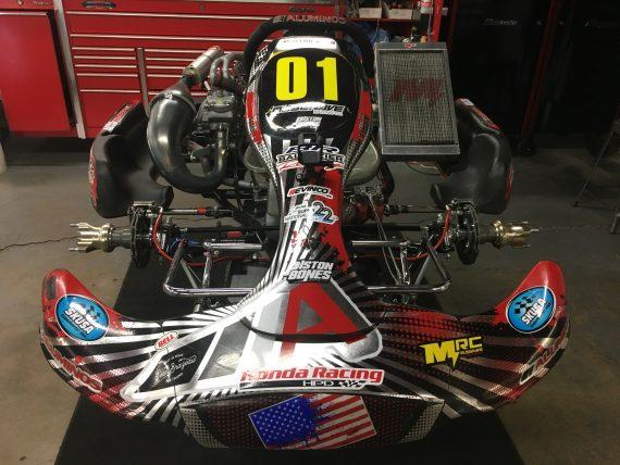 John Crow MRC Aluminos Shifter Kart