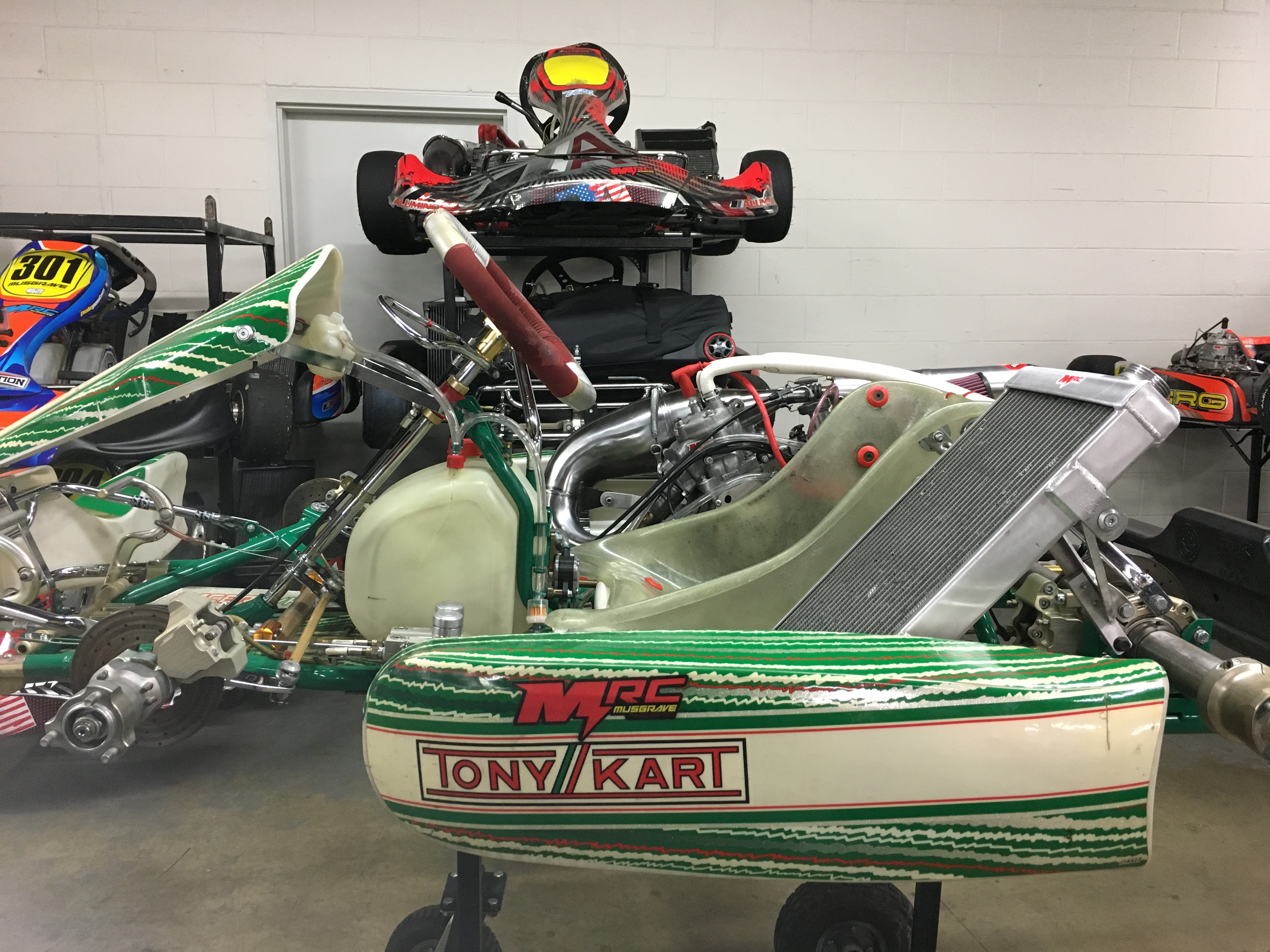 2014 TONY KART SHIFTER W/ COMPLETE HONDA CR125 ENGINE PACKAGE