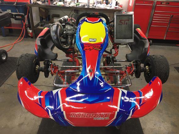DR used shifter kart