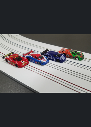 mrc slot cars